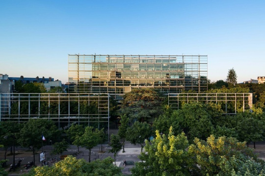 卡地亚当代艺术基金会,法国巴黎,©Jean Nouvel Adagp, Paris ,Photo © Luc Boegly