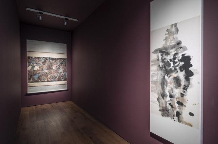 """2017年最后一个展览,由墨斋策展人杨浚承策展的""""影窟""""开始进一步拓宽了墨斋合作水墨艺术家的范围"""