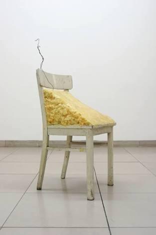 约瑟夫·博伊斯《油脂椅子》1964