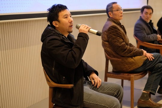 北京圣唐创意首席设计师李鹏发言