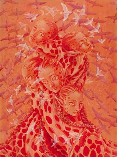 《无限》 200×150cm 布面丙烯 2016