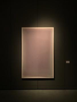金泽相《浅紫轻闻》 168x128cm 综合材料