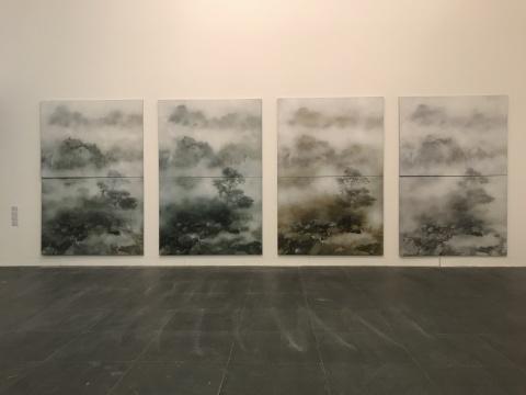 叶剑青《四季》150x200cmx8 布面油画 2018