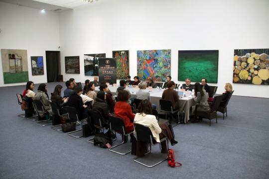 约翰·莫尔绘画奖中国区第五届评选媒体见面会现场