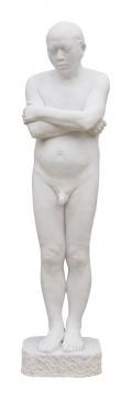 张大力《雕塑》168 X 45 X 35 cm汉白玉2015