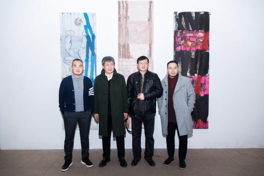 从左至右:孙永增、李向阳、顾振清、夏可君