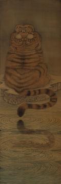 《探微图》22×66cm 绢本 2017