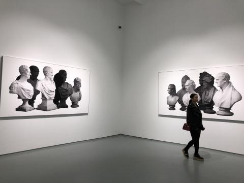 于霏霏 《无音之声》 160×210cm×2 摄影,收藏级打印于哈内姆勒纸 2015