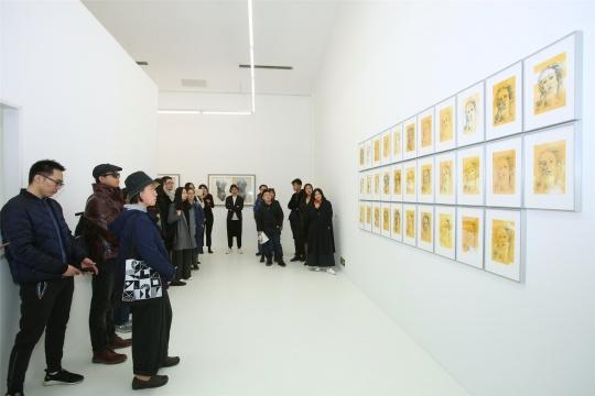 于霏霏 《中国的维纳斯》 45×32cm×32 手绘丝网独幅印刷于手工纸上 2016