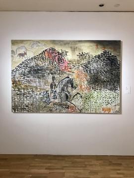 《广汉大吉》140×210cm 布面丙烯 2017