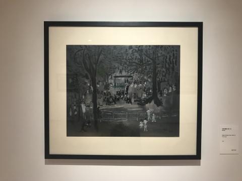 《大连儿童园1982-24》60×70cm 纸本油彩 1982