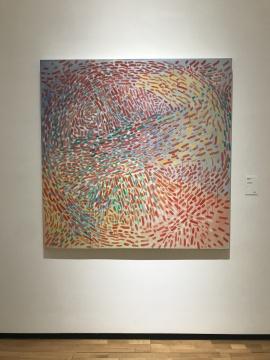 《抽象20070114》153×153cm 布面丙烯 2007