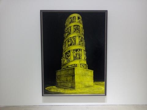 《荣耀NO.1》 210×161cm 布面油画 2018