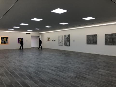 二层展厅右侧作品