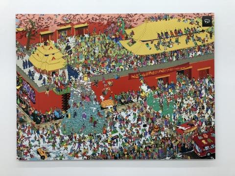 刘博大 《寻找虹霓》155×115cm,6ed 收藏级硫化钡相纸裱铝单板 2016