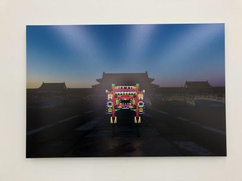刘博大 《虹霓》105×70cm,6ed 收藏级硫化钡相纸裱铝单板 2016