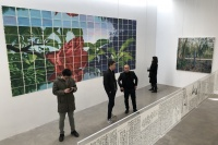 指纹画廊开幕鲍栋《美术》系列策展项目第一回,陈 侗,邓猗夫,王云冲,许力炜