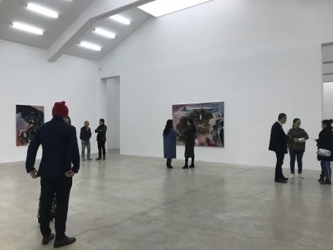 """站台中国 傅饶个展""""世纪""""展览现场"""