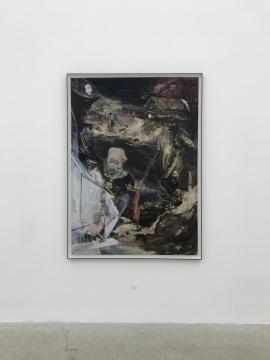 《世纪-7》165.1x118.7cm 纸本油画 2018