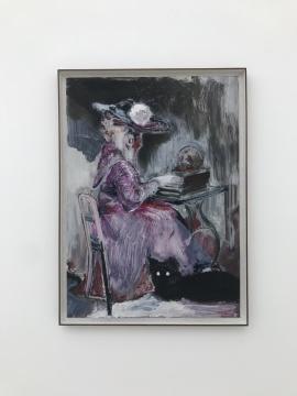 《玫瑰》70 X 50 cm 纸本油画 2017