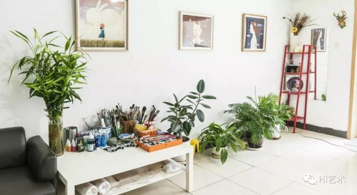 孙莹工作室,已经使用多年(摄影:董林)