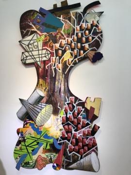 """户尔空间迈克尔·唐斯个展  城市景观的""""无解形制"""""""