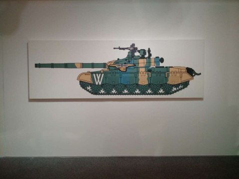 王鲁炎(中国)《W 坦克D10-02》2010