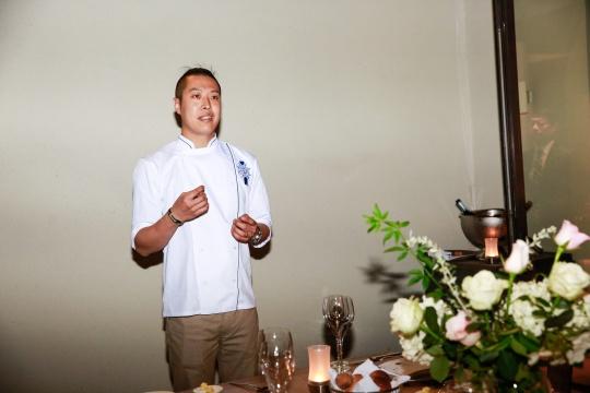 晚宴特邀厨师王昊