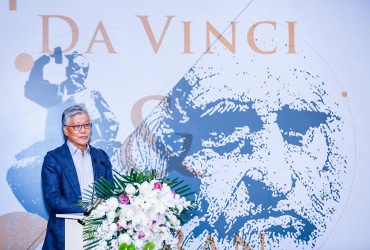 中国汉画学会会长、中国国家博物馆研究员陈履生致辞