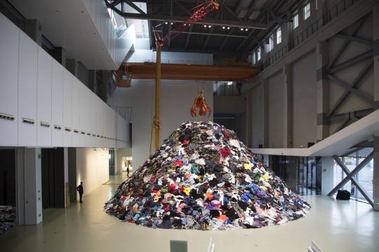 """《无人》,""""忆所""""展览现场,上海当代艺术博物馆"""