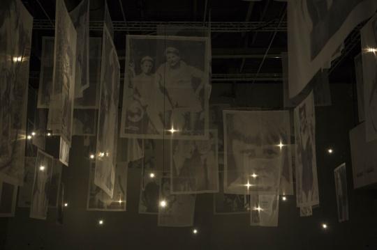 """《人类》,""""忆所""""展览现场,上海当代艺术博物馆"""