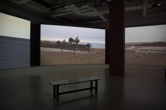 """《秘语》,""""忆所""""展览现场,上海当代艺术博物馆"""