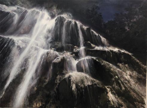 刘海辰《信仰》175x235cm布面油画2018