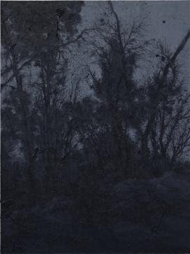 《汲水坡-1》 200x150cm 布面油画 2014