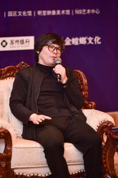 本届双年展策展顾问王晓东致辞
