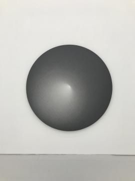 《无题》Φ200 cm 布面铅笔 2017