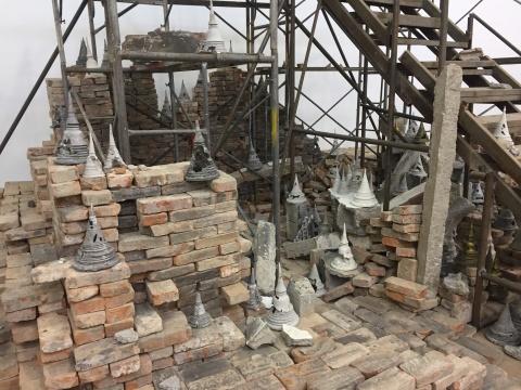 陈彧君×潘娜潘·尤蔓妮 中泰艺术家在当代唐人艺术中心构建了一座神殿