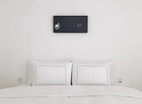 商亮作品《金台夕照》 30x62.5cm 行动记录摄影 2018年