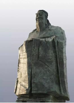 吴为山 老子雕塑