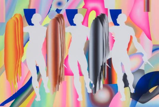 《LUCY-Y-001》 200 x 300 cm  布面丙烯  2018
