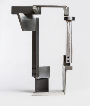 《开放回路》 钢 &铝 40x25x30 cm