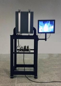 无限盲区 钢镜 红外线相机 等离子显示屏 60x100x120 cm