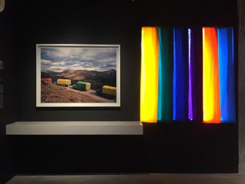 熊文韵 《流动彩虹》 1998-2001