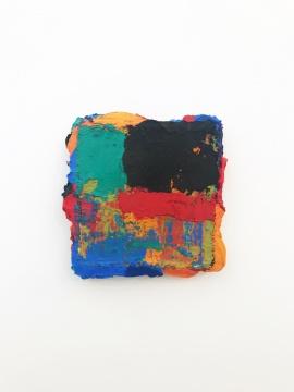 《无题》35x35cm 布面油画 2013-2018
