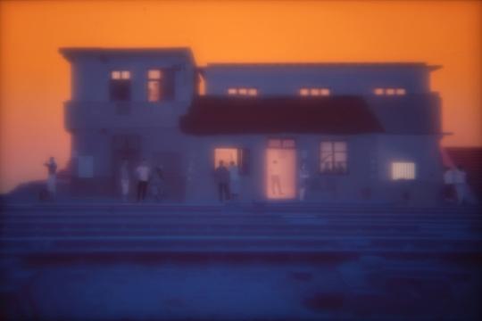 黄晓亮 《Untitled #20150509》,出自《东窗》系列,2015,作品图片由艺术家和M97画廊提供(入围2010第二届三影堂摄影奖并获得美国特尼基金会奖)