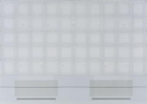 祁奋骏 《10,5-1》 布面丙烯 130×185cm2016