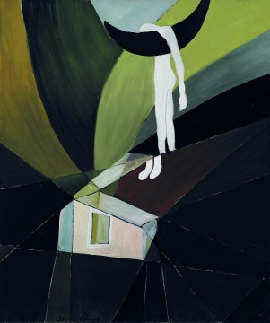 李爽《梦》87.4×73.5cm 布面油彩 1980 图片版权 © 龙美术馆