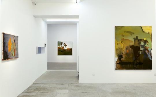 """""""李明昌:边境线""""展览现场"""