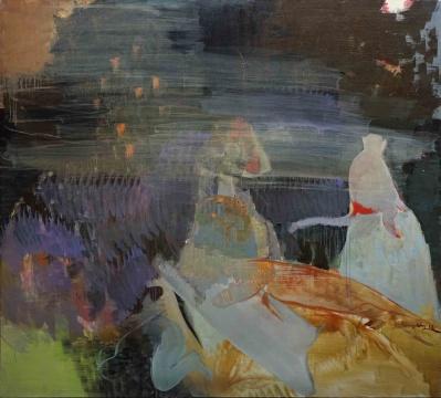 李明昌 《对峙 》190X170 cm,布面油画,2014-2018
