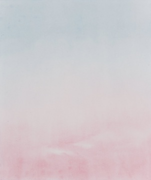 陈杰 《气色》 2018, 纸上水彩,35x30cm